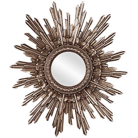 "Howard Elliott Chelsea Sunburst 20"" x 26"" Wall Mirror"