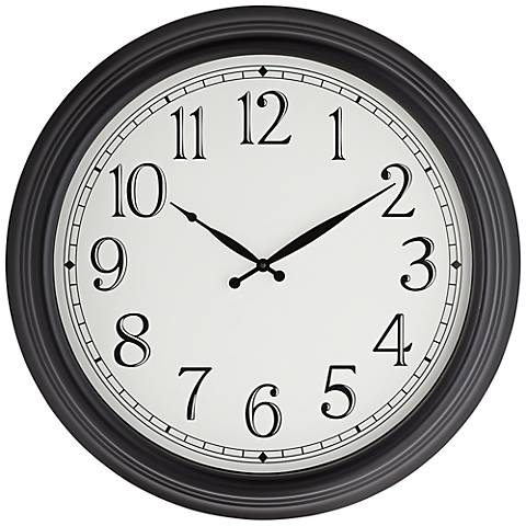 "Coleman 23"" Round Metal Wall Clock"
