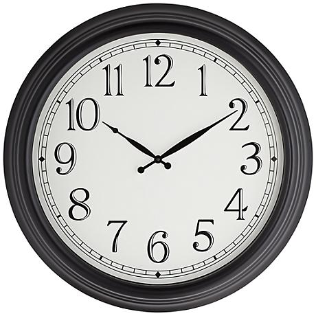 "Coleman 23"" Round Metal Wall Clock"