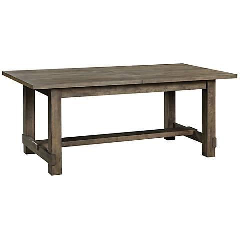 Karlin Hardwood Rectangular Dining Table