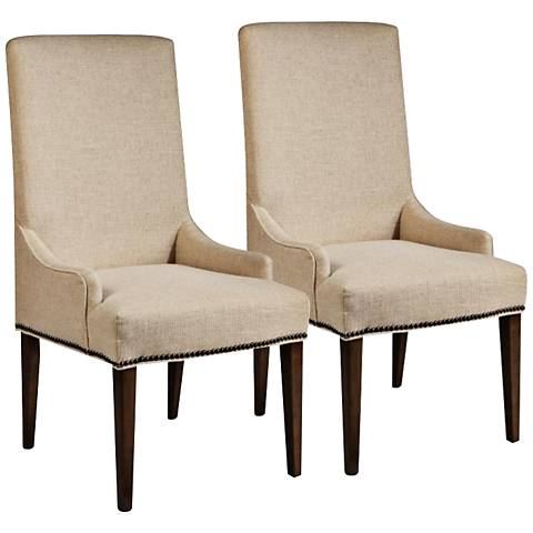 Rothman Upholstered Side Chair Set of 2