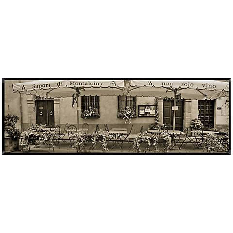 """Italian Cafe 40"""" Wide Wall Art"""