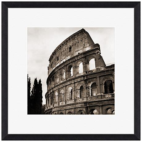 "The Coliseum 22"" Square Framed Wall Art"