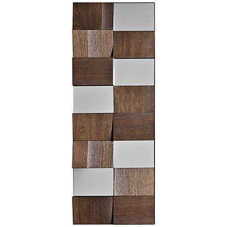 """Kumari 14"""" x 40"""" Decorative Wall Mirror"""