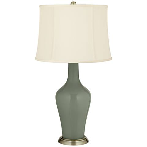 Deep Lichen Green Anya Table Lamp