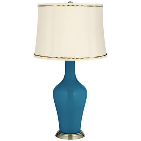 Bosporus Anya Table Lamp with President's Braid Trim