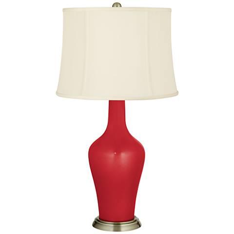 Sangria Metallic Anya Table Lamp
