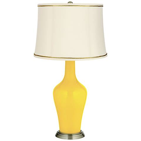 Citrus Anya Table Lamp with President's Braid Trim