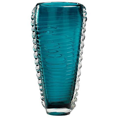 """Medium Dollie 12 1/2"""" High Glass Vase"""
