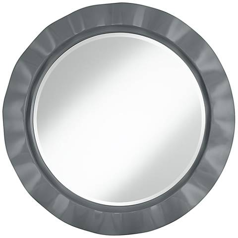 "Software 32"" Round Brezza Wall Mirror"