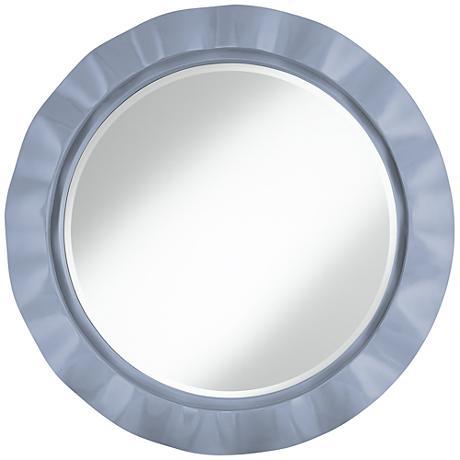 "Blue Sky 32"" Round Brezza Wall Mirror"