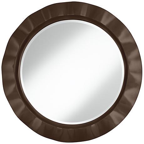 """Carafe 32"""" Round Brezza Wall Mirror"""