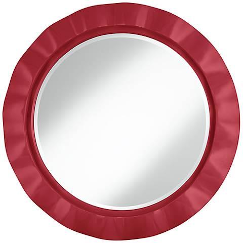 """Samba 32"""" Round Brezza Wall Mirror"""