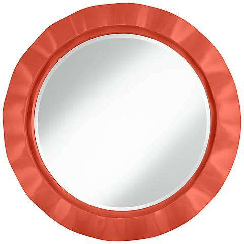 """Koi 32"""" Round Brezza Wall Mirror"""