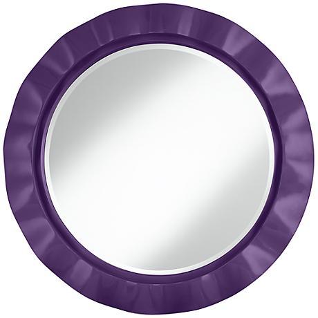 "Acai 32"" Round Brezza Wall Mirror"