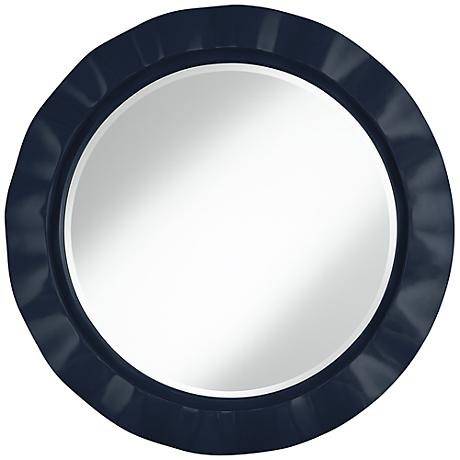 "Naval 32"" Round Brezza Wall Mirror"