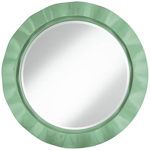 """Hemlock 32"""" Round Brezza Wall Mirror"""