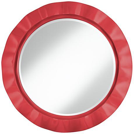 """Cayenne 32"""" Round Brezza Wall Mirror"""
