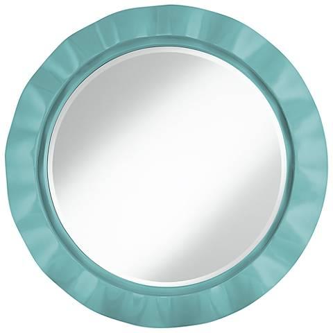 """Nautilus 32"""" Round Brezza Wall Mirror"""
