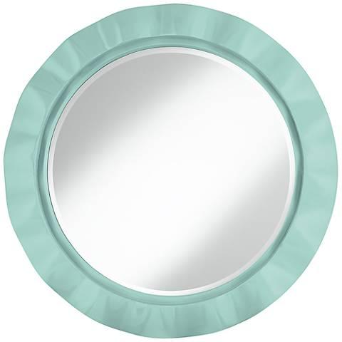 """Cay 32"""" Round Brezza Wall Mirror"""