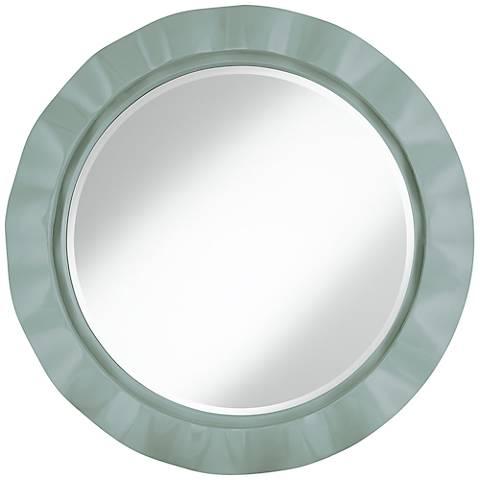 """Aqua-Sphere 32"""" Round Brezza Wall Mirror"""