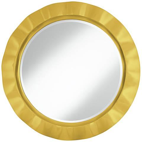 """Nugget 32"""" Round Brezza Wall Mirror"""