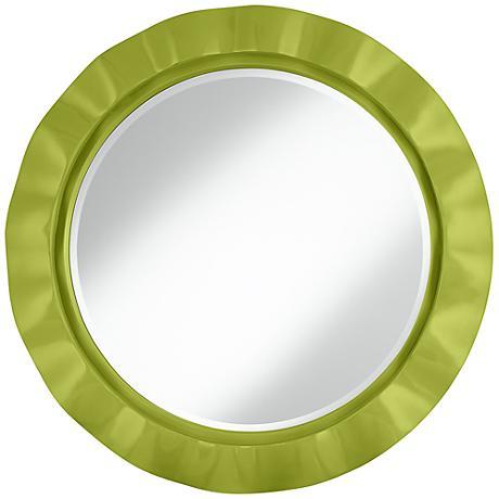 """Parakeet 32"""" Round Brezza Wall Mirror"""