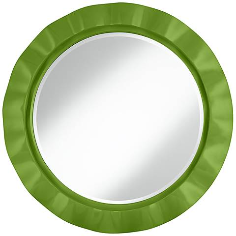 "Gecko 32"" Round Brezza Wall Mirror"