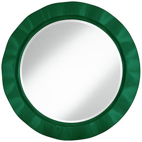 "Greens 32"" Round Brezza Wall Mirror"