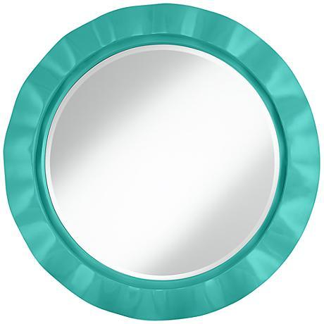 "Synergy 32"" Round Brezza Wall Mirror"