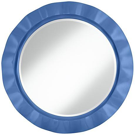"""Dazzle 32"""" Round Brezza Wall Mirror"""