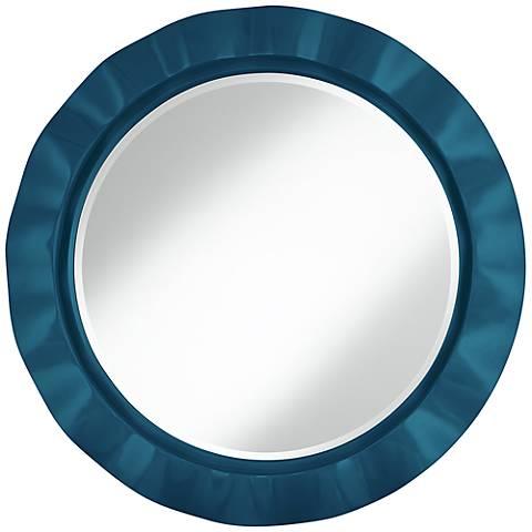"""Oceanside 32"""" Round Brezza Wall Mirror"""