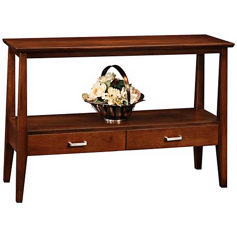 Delton Solid Wood Console Table