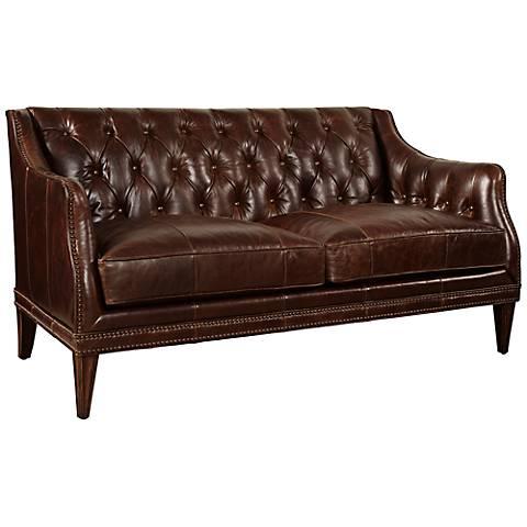 Buckley Leather Settee
