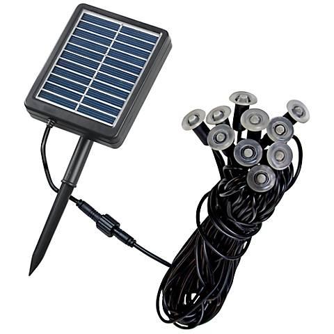 Ten-Light Solar LED Mini String Lights