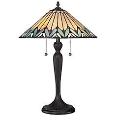 Quoizel Pearson Tiffany Style Table LampTiffany Table Lamps   Lamps Plus. Tiffany Style Lamps Qvc Uk. Home Design Ideas