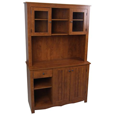 Oak Hills Oak China Cabinet