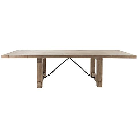 Carter Stone Wash Extension Dining Table