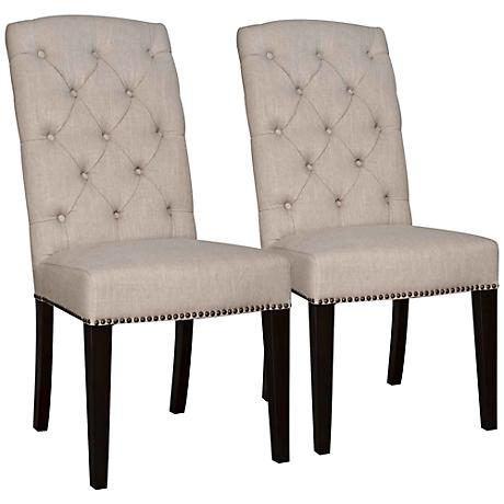 Set of 2 Maddy Birch Dining Chairs