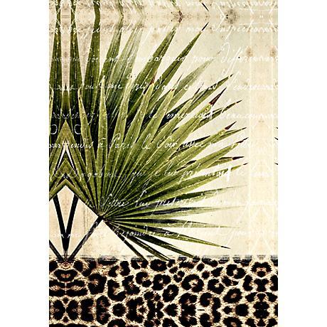 "Palm Leaves I 36"" Canvas Wall Art"