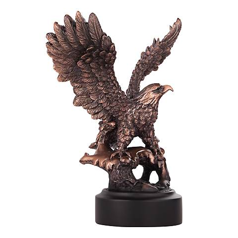 "American Eagle Taking Flight 8"" High Table Sculpture"