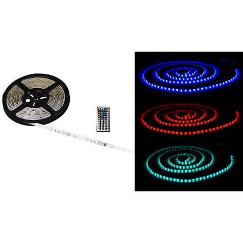 Water-Resistant Color LED Tape Light Kit