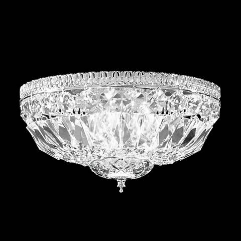 "James R. Moder Impact 9"" Wide Imperial Crystal Ceiling Light"