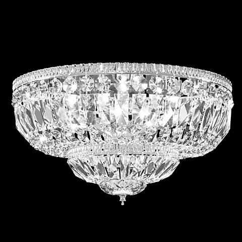 "James R. Moder Impact 18"" Wide Crystal Ceiling Light"