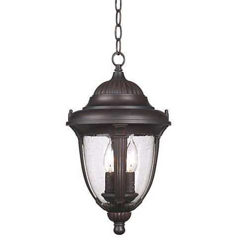 "Casa Sierra™ 16  1/2"" High Outdoor Hanging Lantern"