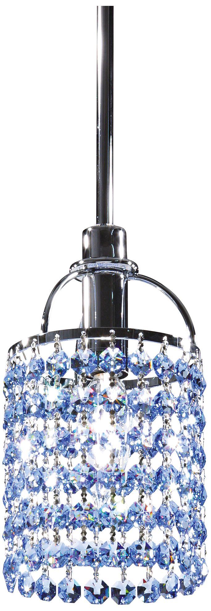 echo sapphire crystal mini pendant chandelier
