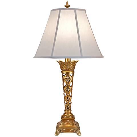 Stiffel McDermott French Gold Table Lamp