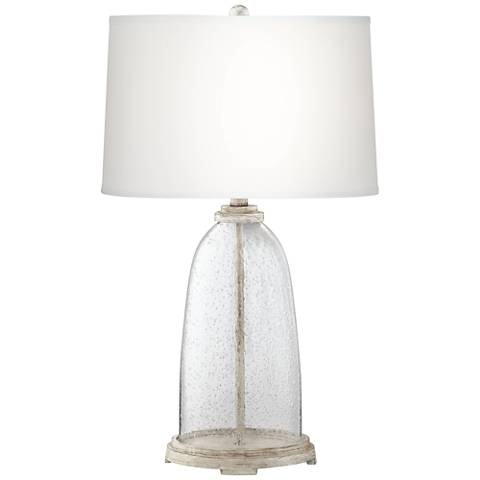 Emerson Glass Fillable Table Lamp