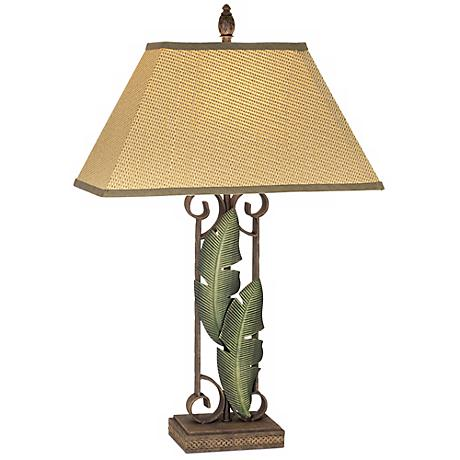 Banana Leaf Table Lamp 41134 Lamps Plus