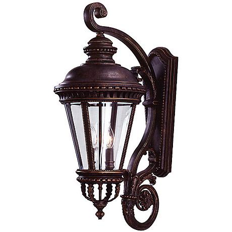 """Feiss Castle Collection 31"""" High Outdoor Wall Light"""